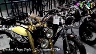 Tracker/Japs Style Customland 2016 GOR Sidoarjo [Custom Bike Exhibition]