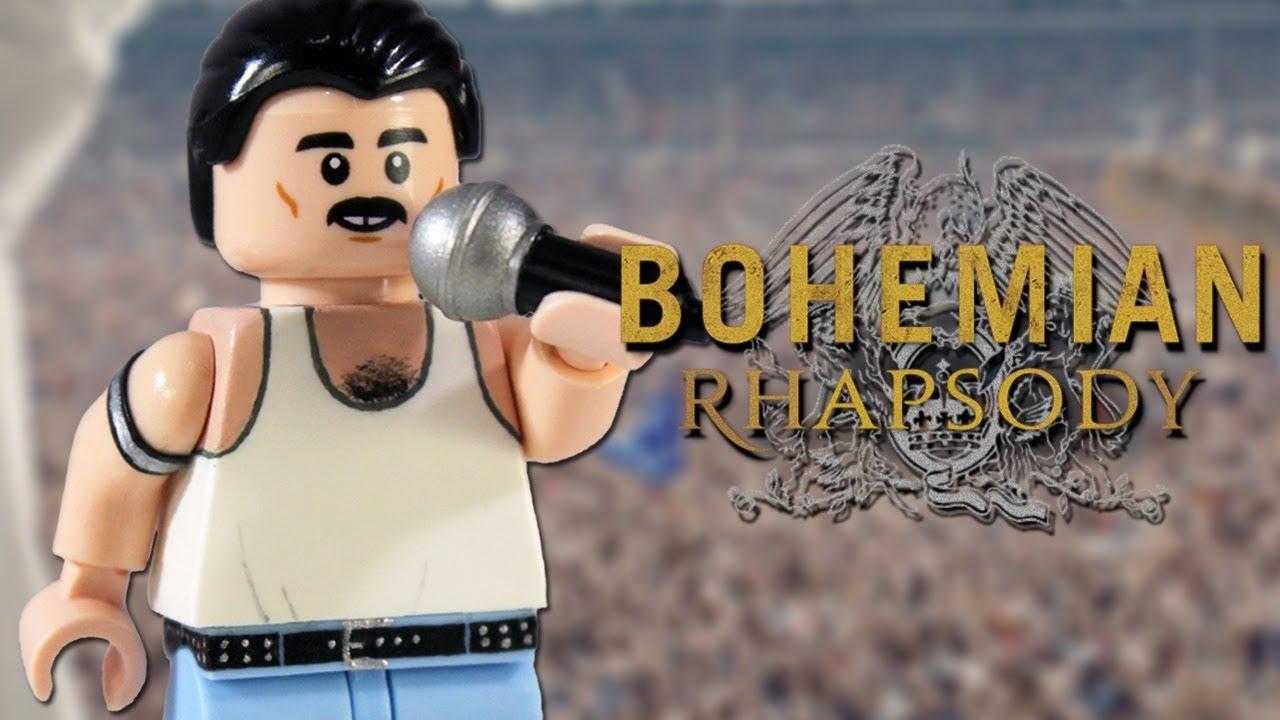 LEGO Building Toys Queen Freddie Mercury Bohemian Rhapsody Custom
