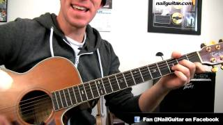 How to play Grenade ✪ Bruno Mars - Guitar Chords Tutorial Pt.2 - Easy Acoustic Guitar Song Lessons