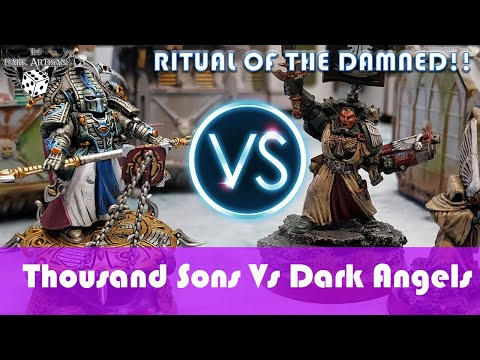 Thousand Sons Vs Dark Angels Ritual Of The Damned Warhammer 40K Battle Report