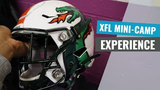 A Day in the Life of a Pro Football Player: XFL Mini-Camp
