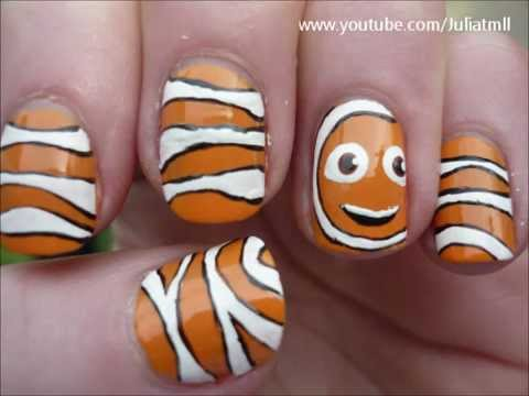 Cute clownfish nail art finding nemo tutorial youtube cute clownfish nail art finding nemo tutorial prinsesfo Gallery