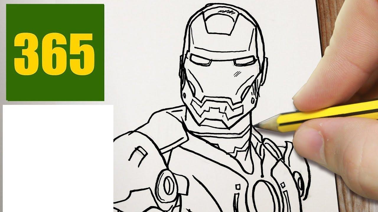 Disegni Da Colorare Con Iron Man.Come Disegnare Iron Man Passo Dopo Passo Disegni Facile Youtube