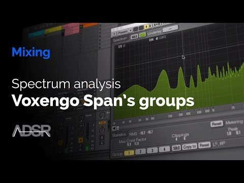 Spectrum Analysis - Voxengo Span's Groups