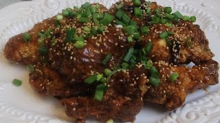 General Tso's Chicken Wings Recipe