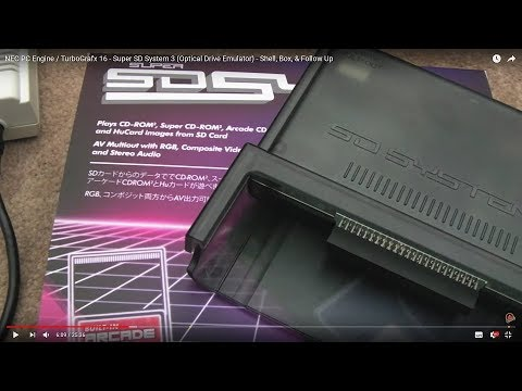 NEC PC Engine / TurboGrafx 16 - Super SD System 3 - Shell, Box, & Follow Up