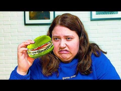 Попробовала всю веганскую еду **это шок**
