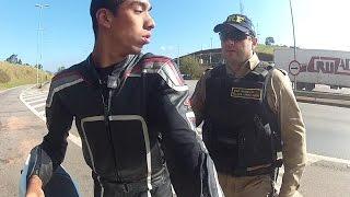 fabinho da hornet fui parado pela policia federal logo apos acelerar forte com uma moto da bmw