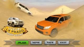 Luxury Lx Prado Desert Driving - Simulation Game Luxury 4x4  - Free Car Games To Play Now screenshot 2