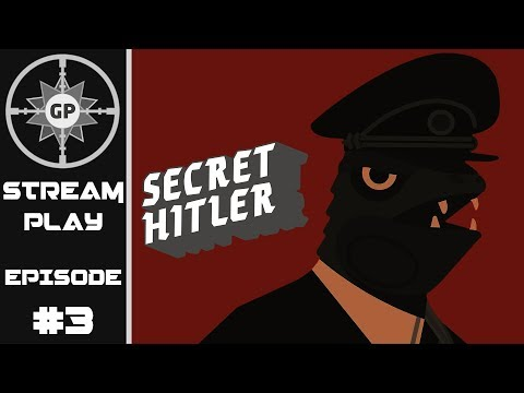 Traitor or Savior? - Secret Hitler - Greyshot Productions Live Stream