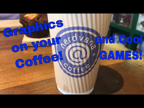Nerdvana Coffee - Nerdy Custom Coffee And Games!