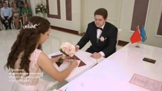 Видеосъемка свадьбы, Загс в Реутове в 4к