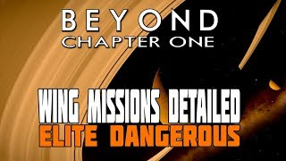 Elite Dangerous Beyond  Wing Missions Detailed - Plus New Crime and Punishment in Action