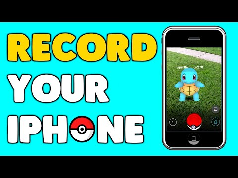 How to Record your iPhone Screen For Free!! | Pokémon GO | Minecraft | Terraria