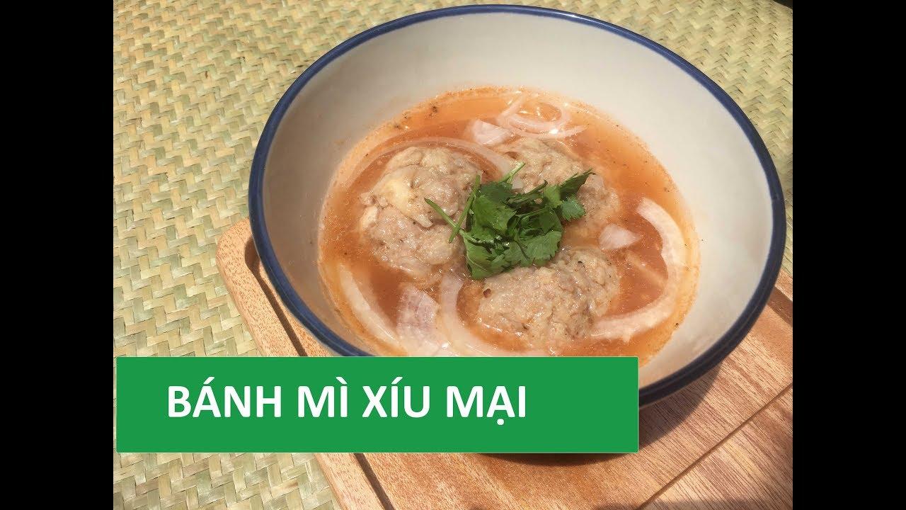 Cách làm XÍU MẠI ngon và nước sốt chấm bánh mì ăn sáng | Món Việt