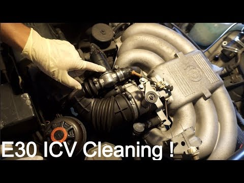 Cleaning ICV and Throttle Body on the E30 !!!