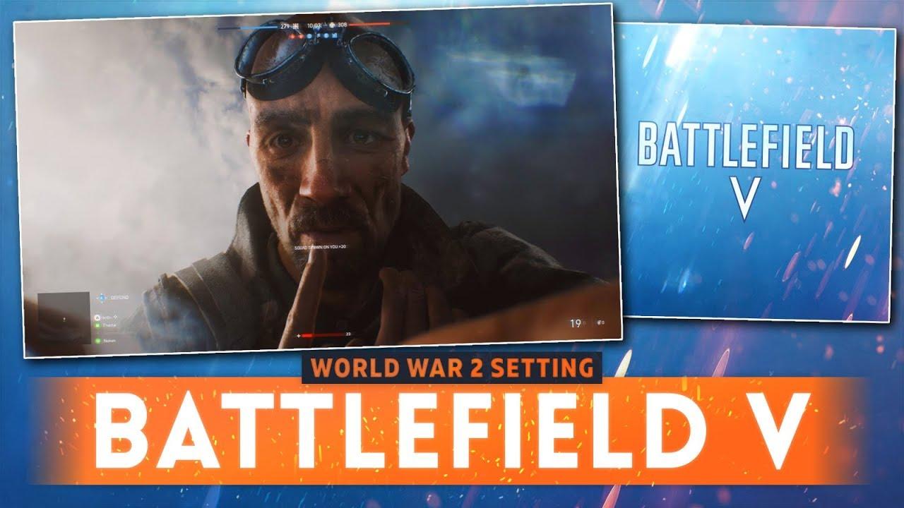 BATTLEFIELD V: World War 2 Setting Confirmed From TEASER TRAILER! (Battlefield 5 Teaser Trailer)