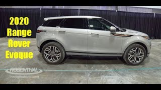 2020 Range Rover Evoque Show & Tell at the DC Auto Show