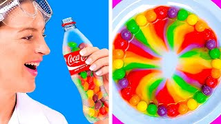 FOOD CHALLENGES THAT WILL MAKE YOU HUNGRY!    Funny Tricks With Food by 123 Go! Genius