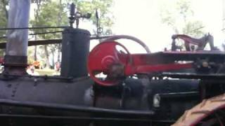 Gaar-Scott steam tractor and thresher