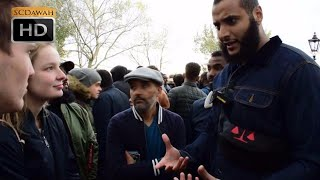 P1 - Value of Life! (Abortion) Mohammed Hijab Vs Agnostic Girl | Speakers Corner | Hyde Park