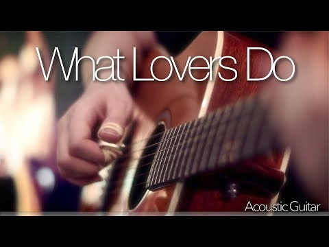 Maroon 5 - What Lovers Do (feat. SZA) - Fingerstyle Guitar Cover