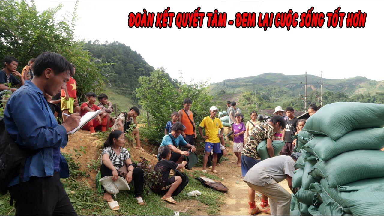Cả bản phấn khởi nhận tiếp tế hơn 1 tấn gạo để làm đường | Con đường huyền thoại Cống Dua ( Tập 16 )