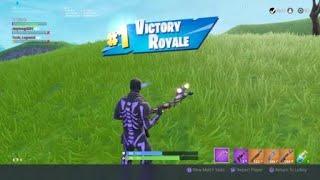Fortnite levou garoto para sua 4ª vitória (eu derrubei 18 mortes) [a filmagem REAL]