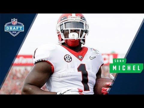 Sony Michel Getting Drafted | Round 1, Pick 31 | #DawgsInTheNFL