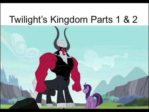 "Blind Reaction: MLP FIM Season 4 Episodes 25 & 26 ""Twilight's Kingdom"""