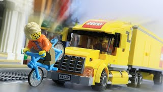 LEGO City Life | Lego Late for Work: Racing Against Time | Lego Stop Motion Animation