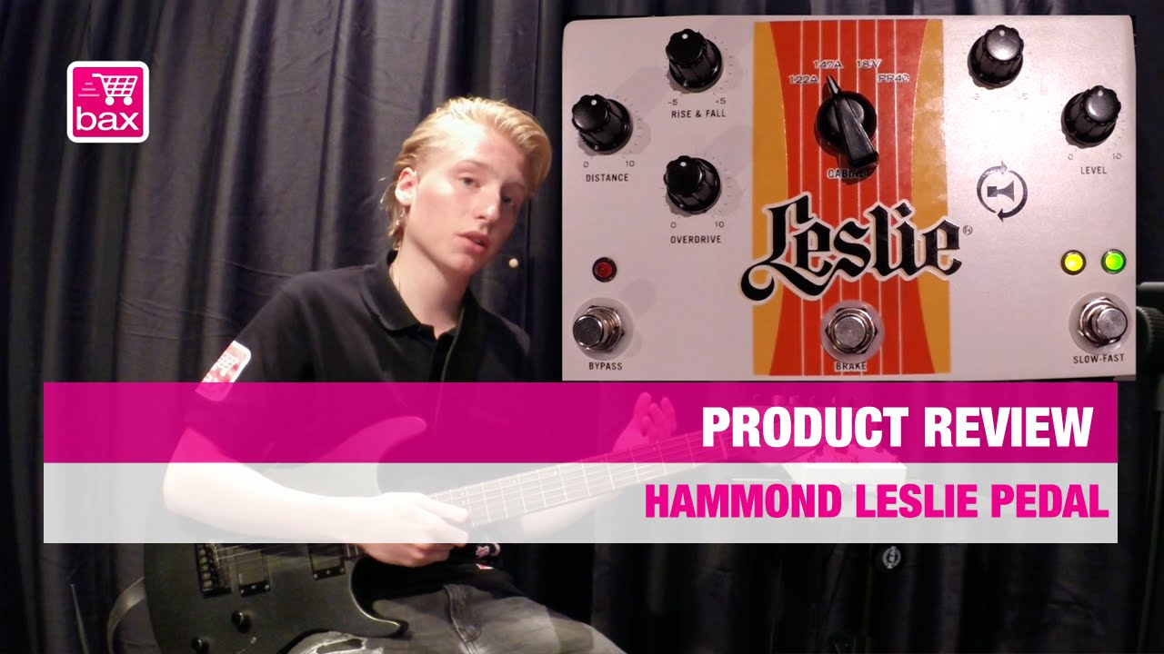 review hammond leslie pedal nl youtube. Black Bedroom Furniture Sets. Home Design Ideas