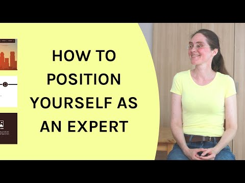 Personal Branding | Position Yourself as an Expert