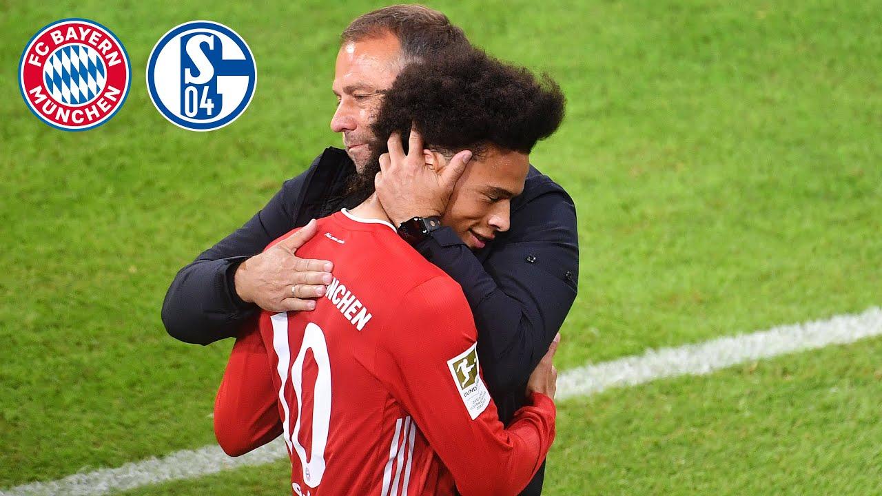 """""""Standortbestimmung bravourös gemeistert!""""   PK mit Hansi Flick nach dem 8:0-Sieg gegen Schalke"""