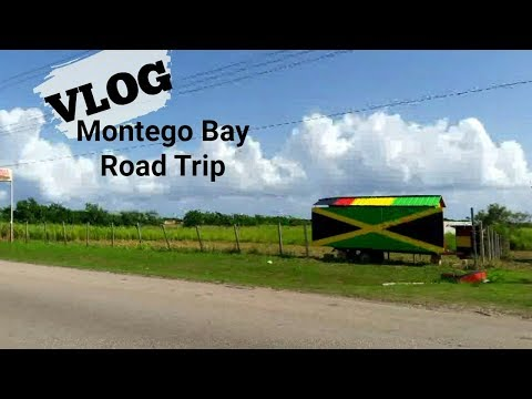 Vlog 10: Life In Jamaica   MONTEGO BAY ROAD TRIP with the fam!