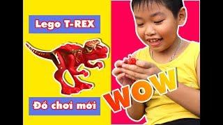 Đồ Chơi Lego Khủng Long BẠO CHÚA T-REX đỏ - Lego Toys T- REX RED
