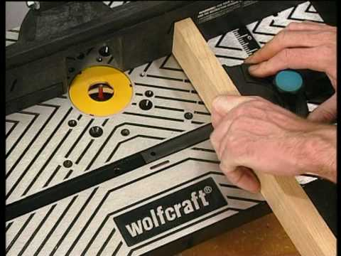 wolfcraft table de fraisage pour d fonceuse master rt 540 youtube. Black Bedroom Furniture Sets. Home Design Ideas