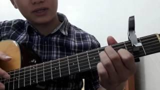 """Guitar hướng dẫn: Intro, đệm hát """"Nỗi nhớ cao nguyên"""" - ST: Tuấn Anh - giới thiệu hợp âm dây buông"""