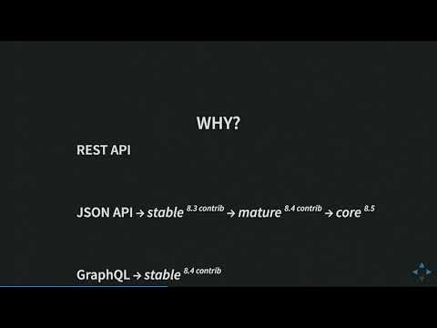 DrupalCon Vienna 2017: API-First Initiative