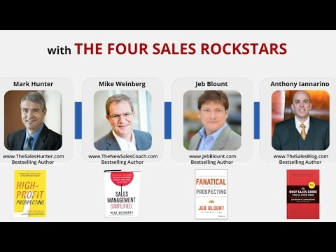 Hacking Sales in Real Time: Four Sales Rock Stars speak out