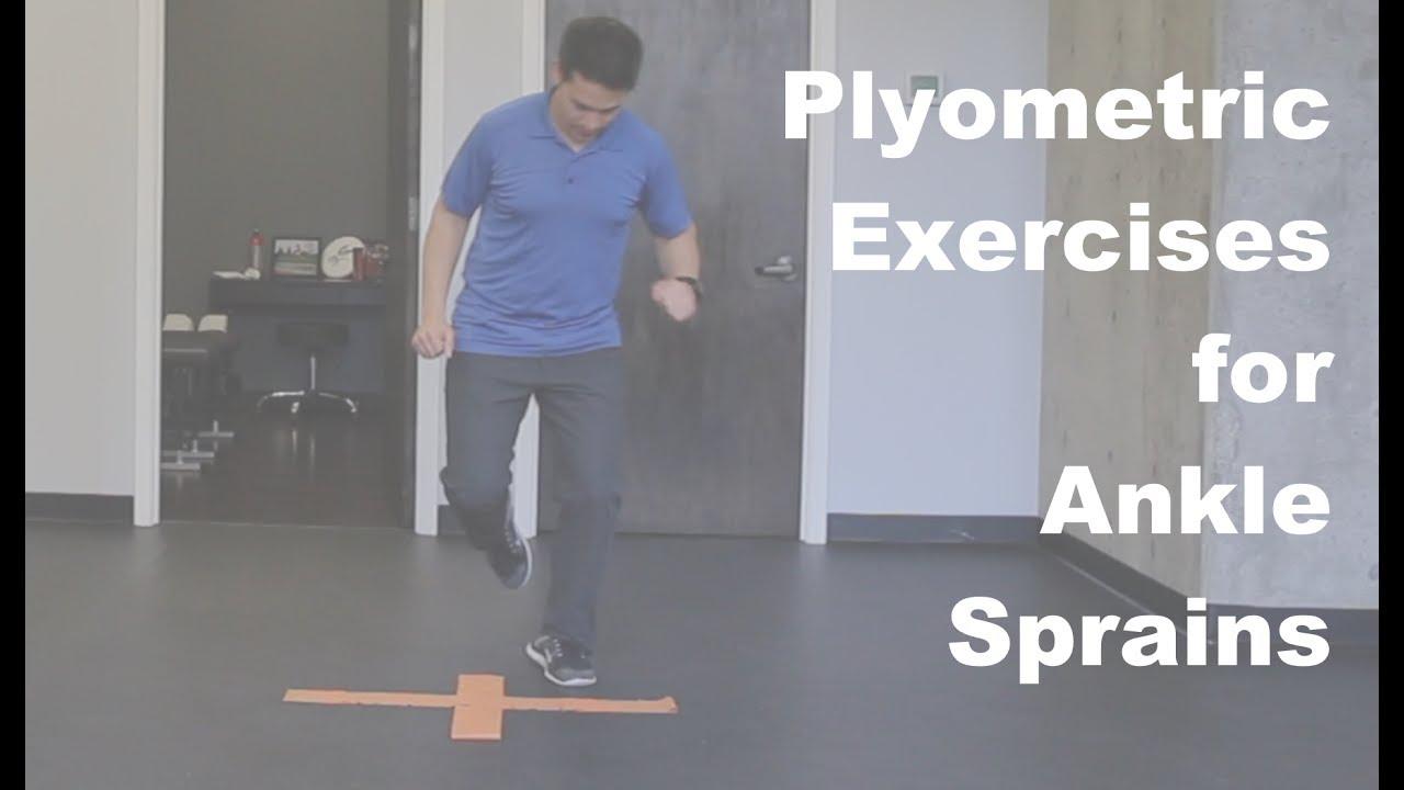 Plyometric Exercises for Ankle Sprains