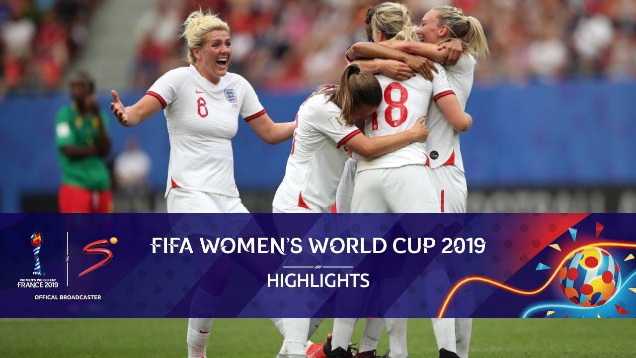FIFA Women's World Cup   England vs Cameroon   Highlights