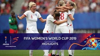 FIFA Women's World Cup | England vs Cameroon | Highlights