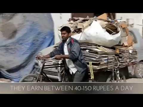 ''RAGPICKERS'' documentary,delhi