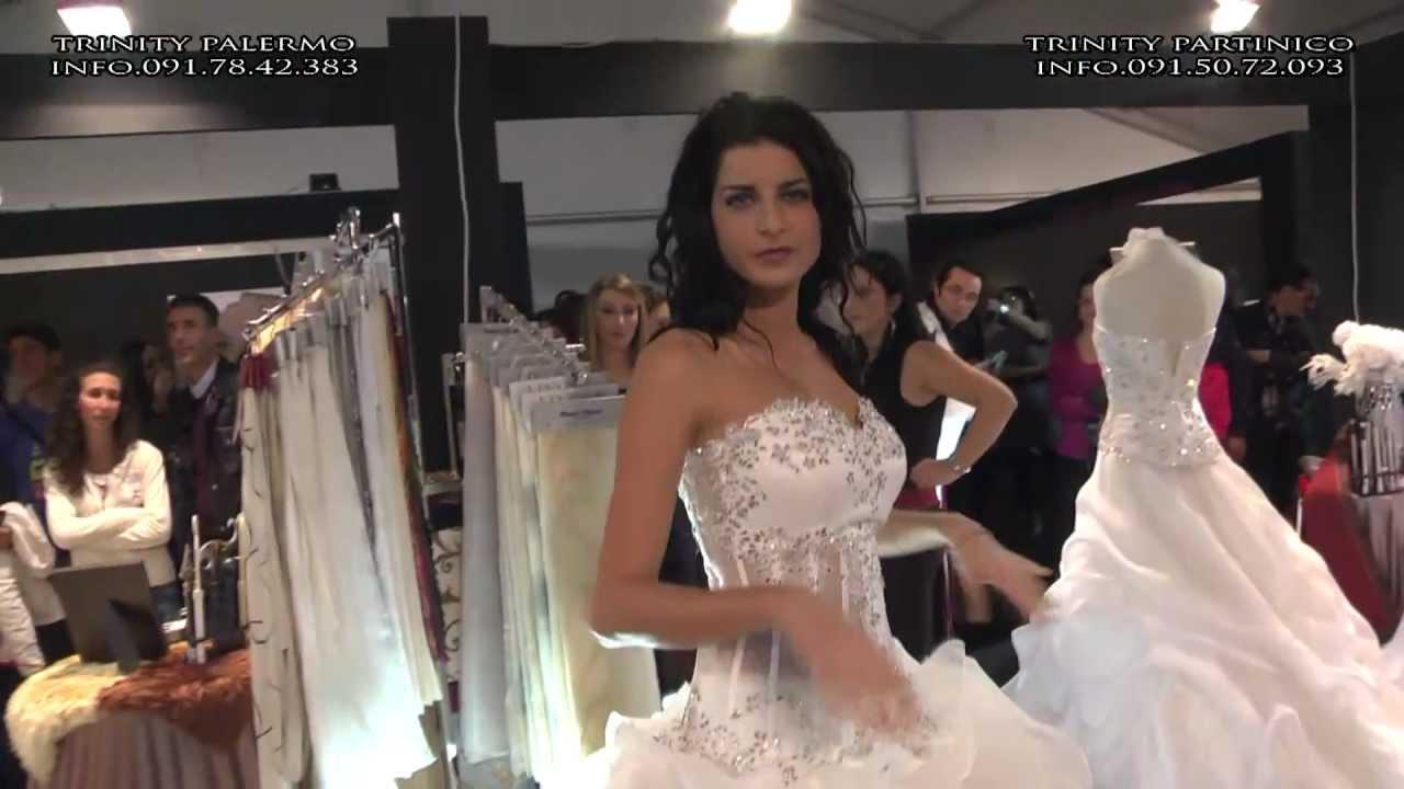 a0aa0d049e10 Collezioni Abiti Da Sposa Palermo 2013-2014 TRINITY SPOSI Special Guest  Raffaello Balzo - YouTube