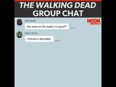 TWD Group Chat via The Hook