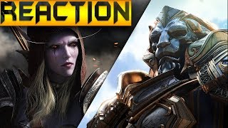 World of Warcraft Battle for Azeroth Trailer Reaction (So Hyped !!!)