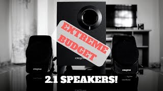 Creative A120 Budget 2.1 speakers review!