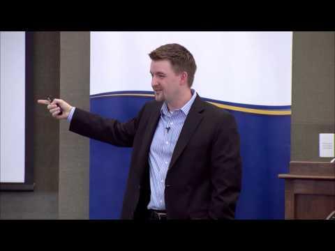 Josh Martin, Cottrell Speaker Series