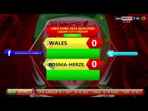 Avid Sports Live Radio - UEFA Euro 2016 Qualifier - Wales vs. Bosnia-Hertzegovina